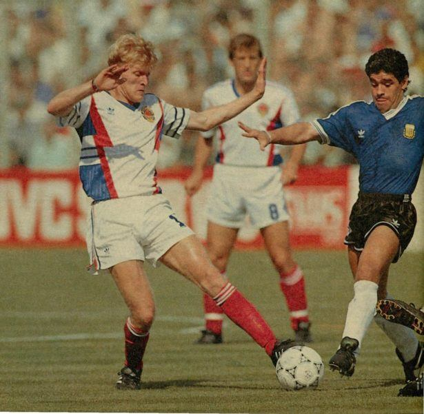 Robert Prosinecki played against Maradona in the 1990 World Cup quarter final