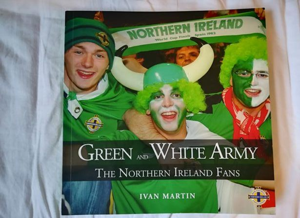 The Green and White Army - Northern Ireland fans by Ivan Martin