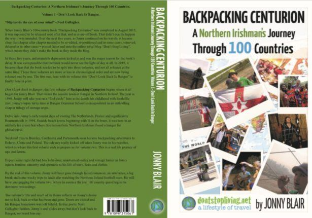 Backpacking Centurion - Draft cover