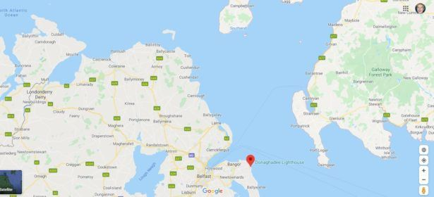 Northern Ireland and Scotland are close together