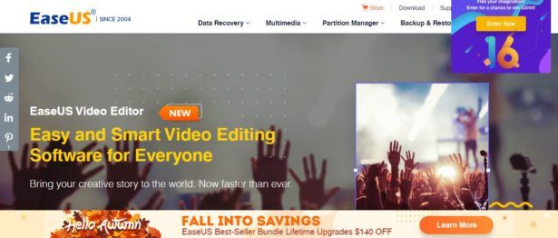 EaseUS: An Excellent Video Editor To Check Out