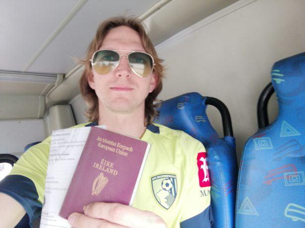 Arrival in Angola: Visa in Luanda