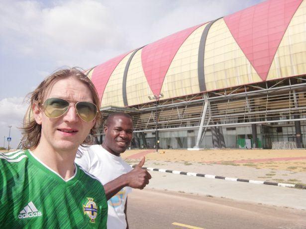 Estadio 11 Novembre - National football stadium in Luanda, Angola