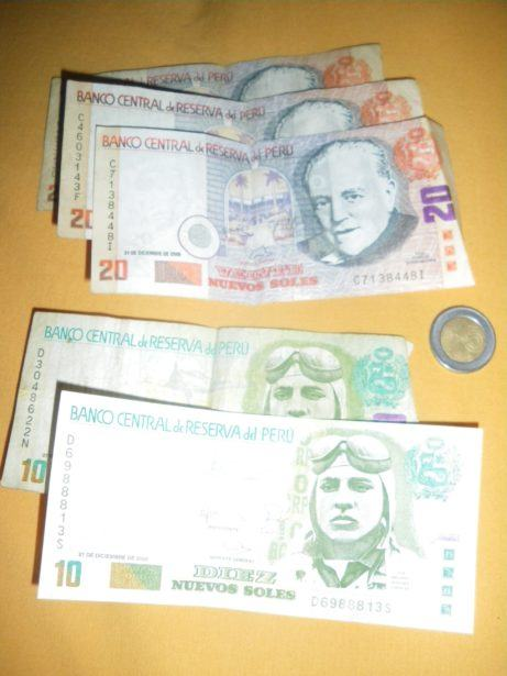 Exchange The Cash Before Going To Peru