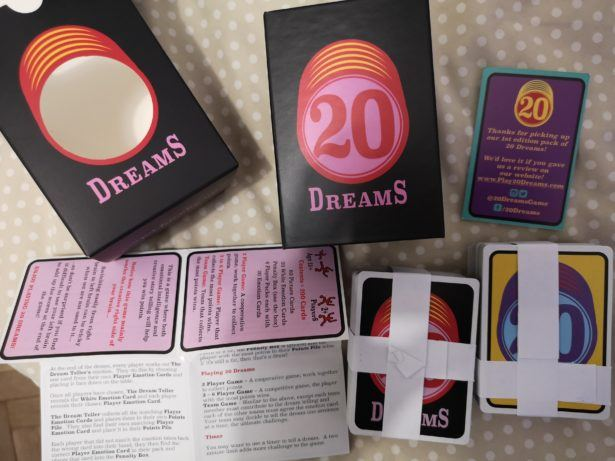 Introducing 20 Dreams: A Great Game To Play At Home