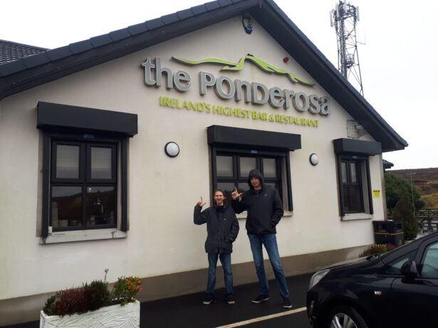 The Ponderosa, Ireland's Highest Pub, Glenshane Pass, NORTHERN IRELAND