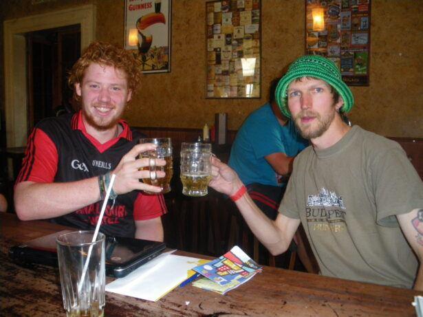 At the Wild Rover - The World's Highest Irish Pub, La Paz, BOLIVIA