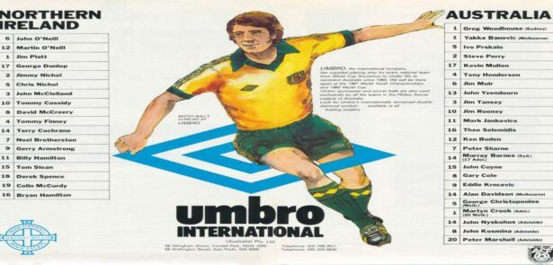 Northern Irish Footballers Who Played For Australia