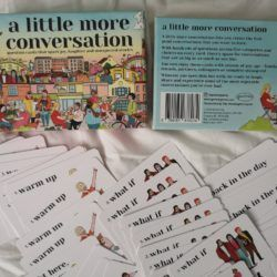 A Little More Conversation: A Excellent New Game To Play At Home