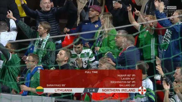 Lithuania 1-4 Northern Ireland (September 2021)