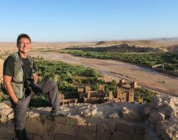 World Travellers: Peter From GlobeRovers at Aït-Ben-Haddou, Morocco